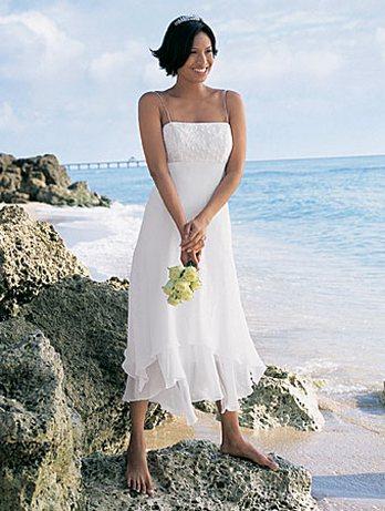 Свадебные платья для пляжа