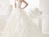 Свадебное платье пышное от талии