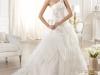 Шикарные свадебные платья 2014 пышные