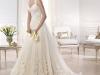 Пышные свадебные платья 2014 со шлейфом фото