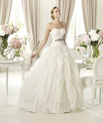 Платья свадебные 2014 пышные