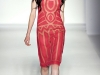Розовое платье Alberta Ferretti