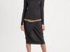 Серое платье из тонкой шерсти от Brunello Cucinelli