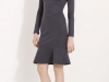 Осеннее платье 2012 из шерсти серого цвета, Valentino