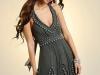 Короткие шелковые платья 2011 фото