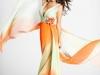 Вечерние шифоновые платья 2011