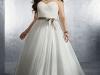 Свадебные платья 2012 для полных