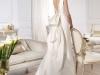 Свадебное платье с открытой спиной 2014