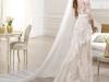 Свадебное платье кружевное со шлейфом 2014