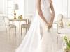 Свадебное платье годе 2014