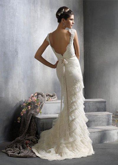 Кружевные свадебные платья {part 2}