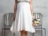 Короткие свадебные платья для беременных