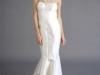 Свадебное платье с бретельками через шею от Douglas Hannant
