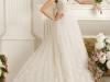 Осенние свадебные платья 2012 на бретельках