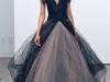 Темное синее свадебное платье Веры Вонг 2012