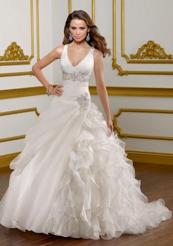 Свадебные платья в стиле принцесса