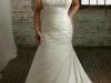 Свадебные платья для полных с корсетом