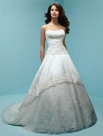 Свадебные платья с корсетом (33 фото.