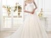 Свадебные платья с кружевным верхом и рукавами