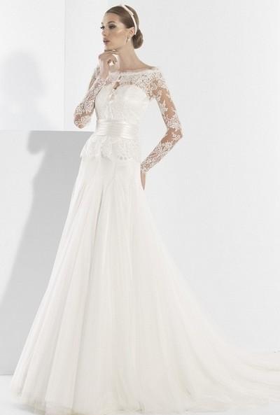 как менялась мода на свадебные платья за 100 лет