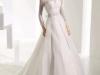 Свадебные платья с кружевным воротником стойкой