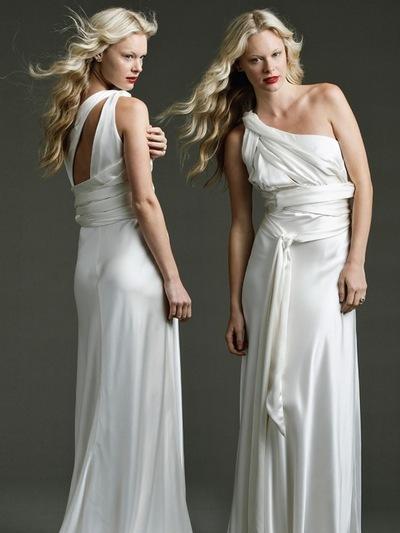вечерние платья для полных в греческом стиле.