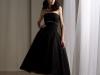 Черные свадебные платья в стиле ретро короткие