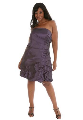 вечерние платья для полных девушек.