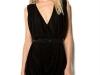 Черное короткое платье в стиле Ампир фото