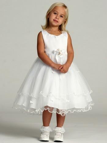 Платье белое для девочки картинки