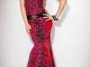 Вечернее платье-русалка