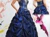 Вечерние платья с корсетом 2011