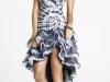 Короткое платье со шлейфом фото