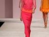 Длинное весеннее платье 2013 розового цвета от Ermanno Scervino