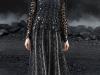 Черное вязаное платье Chanel
