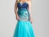 Синее платье на выпускной 2013 для полных