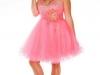 Короткое платье на выпускной 2013 для полных