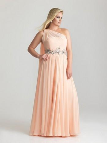 Фото длинных платьев на полную фигуру