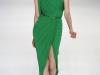 Длинное зеленое платье Эли Сааб (Elie Saab)