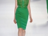 Короткое зеленое платье Эли Сааб (Elie Saab)
