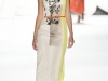 Бело-желтое платье Carolina Herrera Весна-Лето 2013