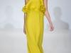 Длинное вечернее желтое платье Gucci 2013