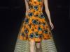 Желтое платье с принтом от Kenzo 2013 фото
