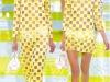 Прозрачные желтые платья 2013 фото Louis Vuitton