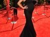 Беременная Хайди Клум в платье от Маркиза