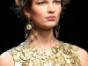 Золотистое платье 2014 от Dolce & Gabbana