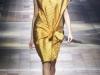 Платье золотистого цвета фото, коллекция Lanvin 2014