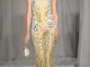 Платье золотистого цвета Marchesa 2014 фото