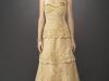 Свадебное платье золотого цвета