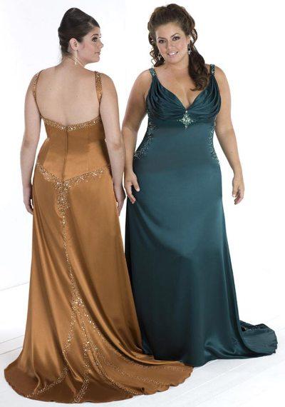 Фигурку нарядные платья для полных